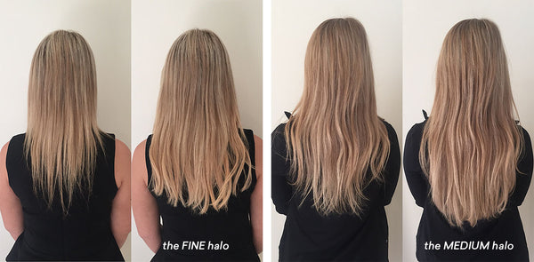 how to make thin hair thicker with extensions