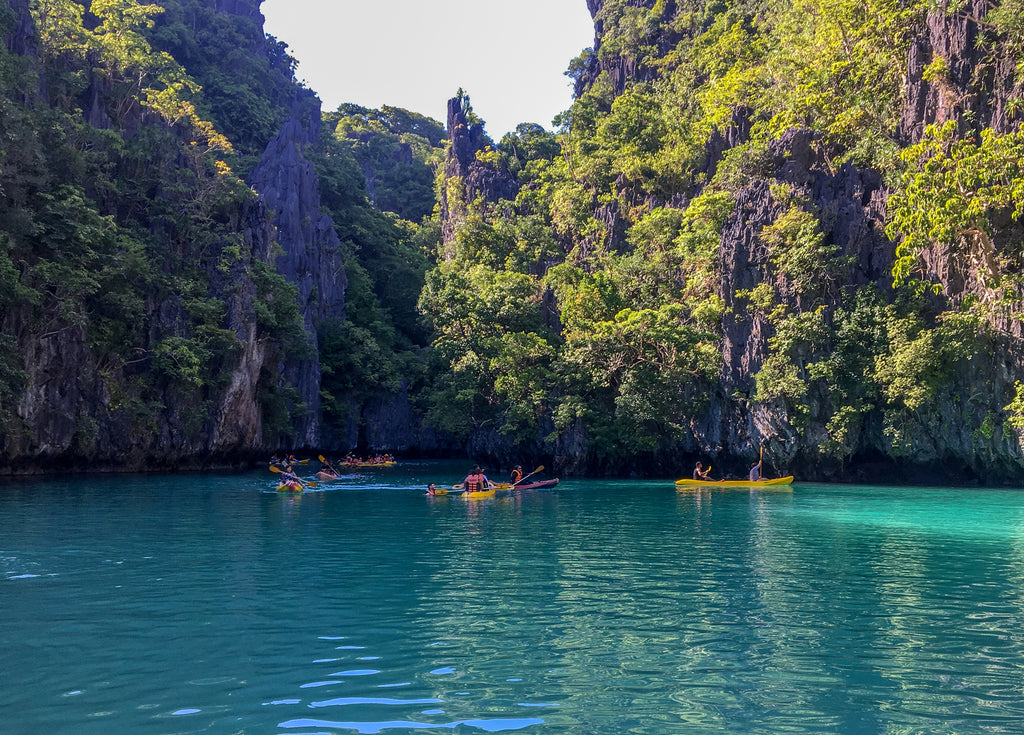 Kayaking in El Nido, Palawan