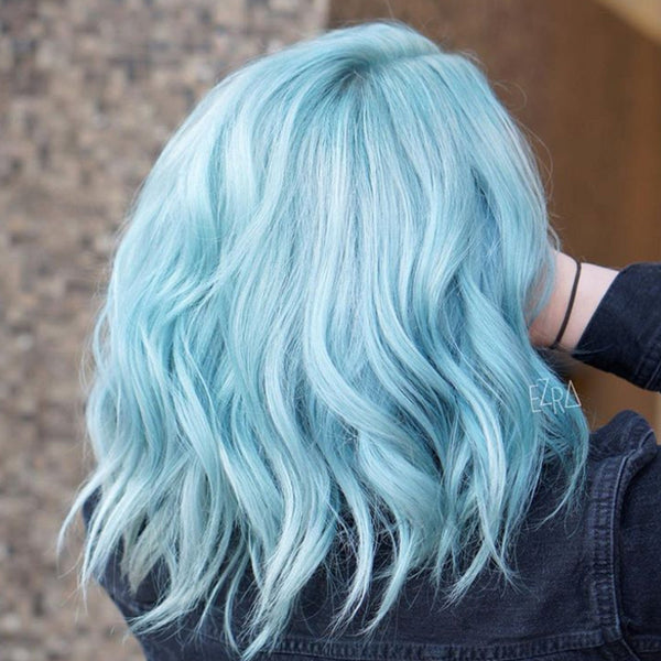 pastel hair colors: blue