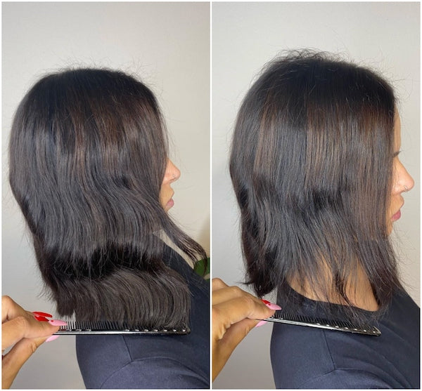hair extensions for thin and damaged hair