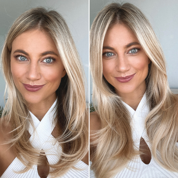 how hair grows halo hair extensions before and after