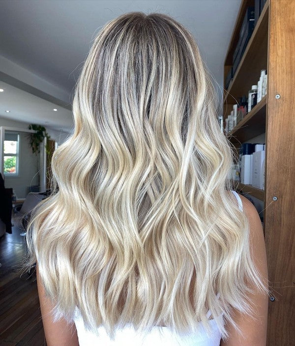 blonde hair colours halo hair extensions