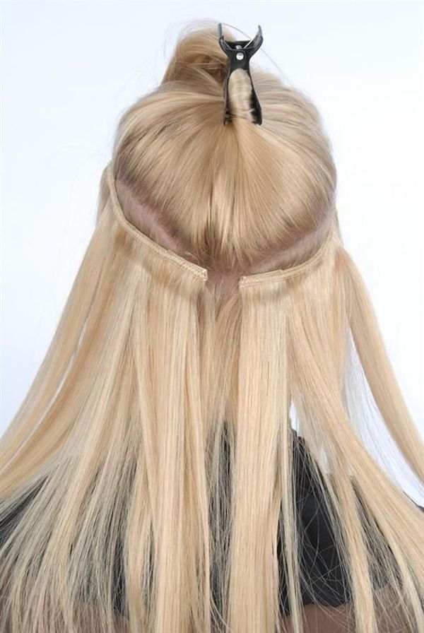 how do hair extensions work halo hair extensions