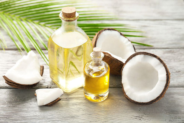 how to hydrate hair with coconut oil