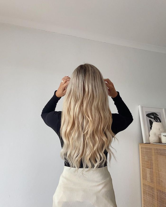 common haircare mistakes blonde halo hair extensions