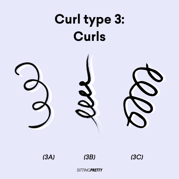 curly girl method curl types