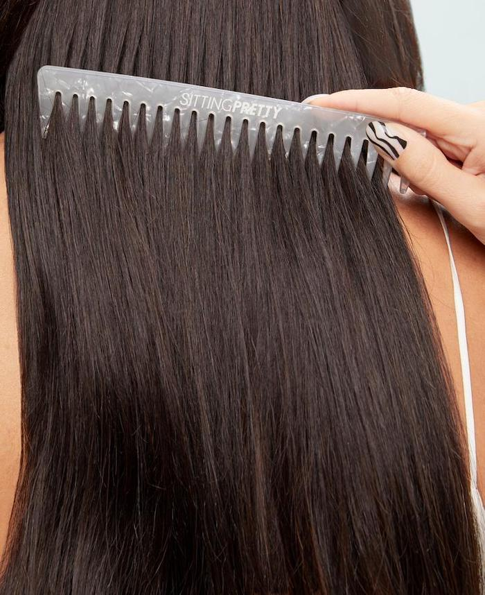 hair styling tools sitting pretty halo hair texture comb