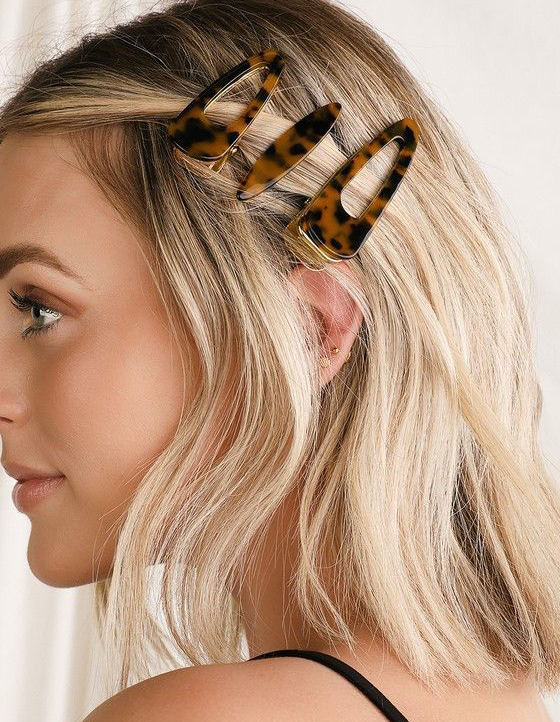 accessories for short hairstyle using halo hair extension