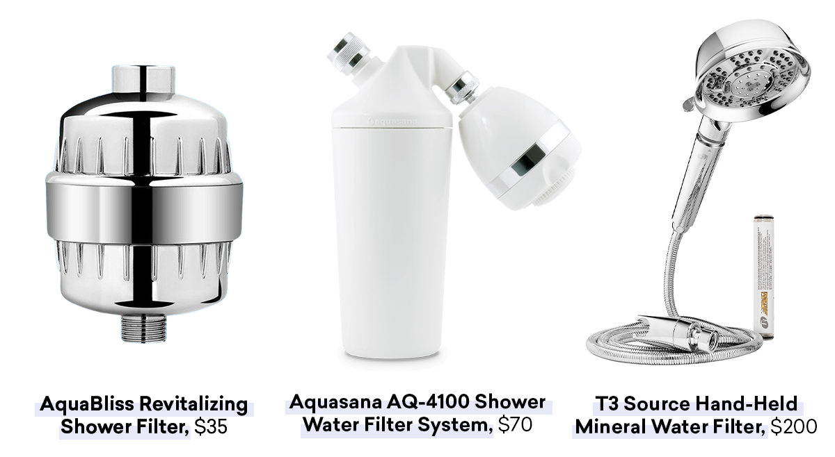shower filter systems that answer how can i protect my hair from hard water