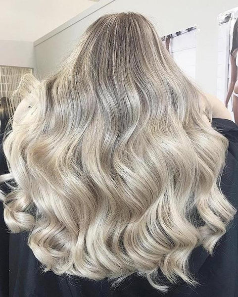 how hair grows ash blonde halo hair extensions