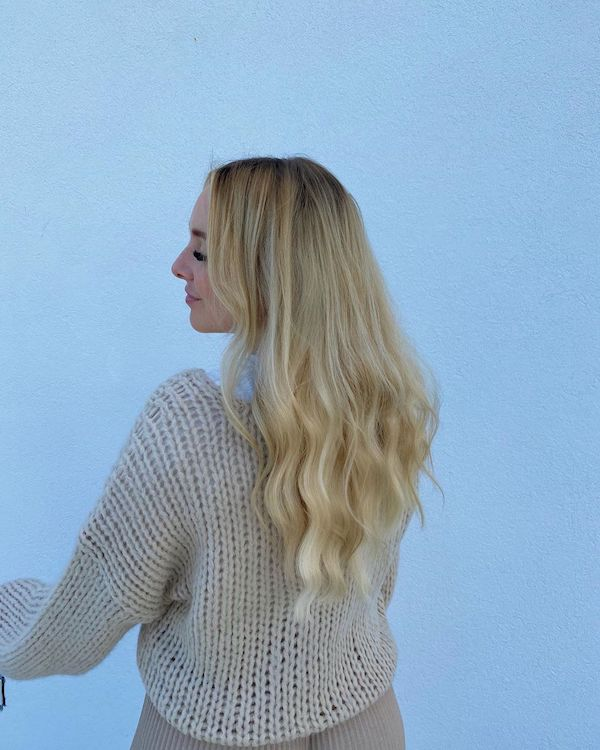 how to wear halo hair extensions blonde hair extensions