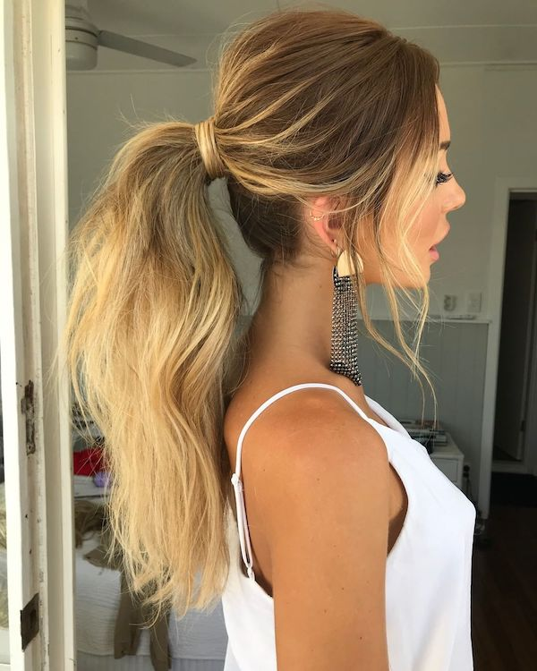 ponytail hairstyles easy hairstyles