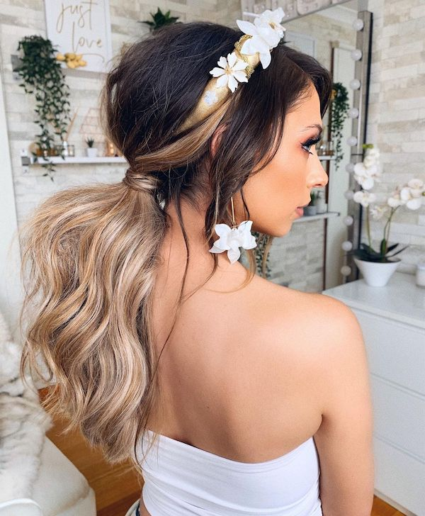 summer hair accessories headbands halo hair extensions