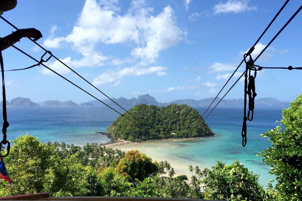 Zip Lining El Nido - El Nido Travel Guide