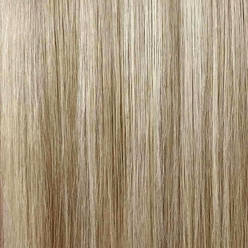 Beige Blonde and Dark Blonde Halo Hair Extension }}