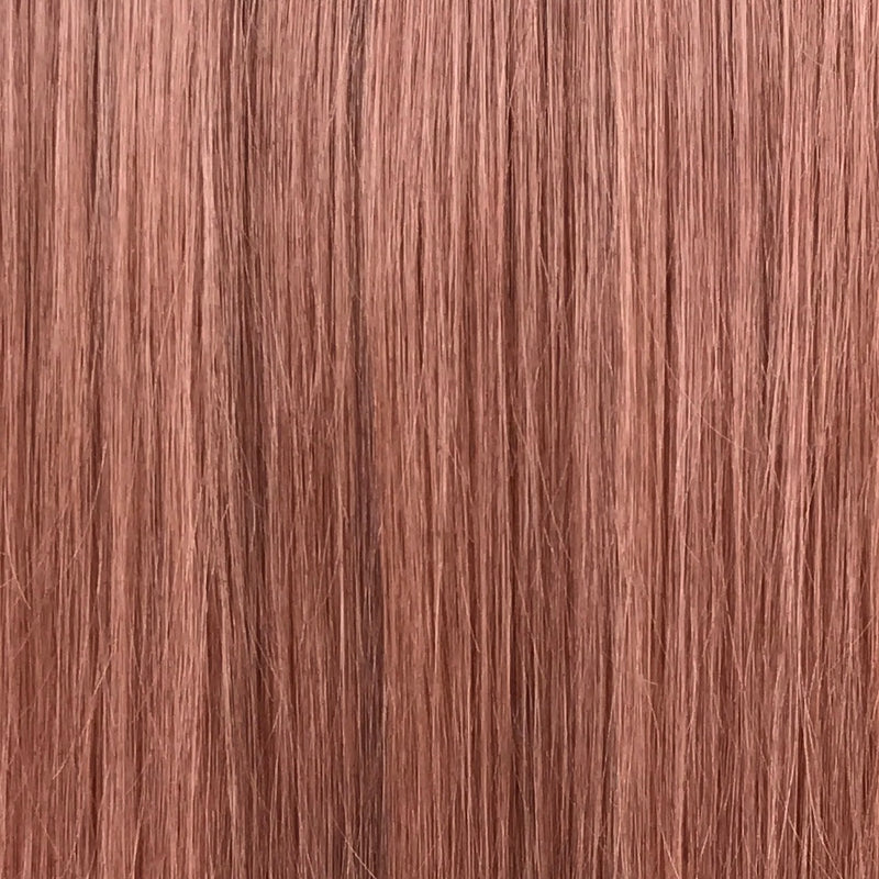 Soft Auburn Halo Hair Extension }}