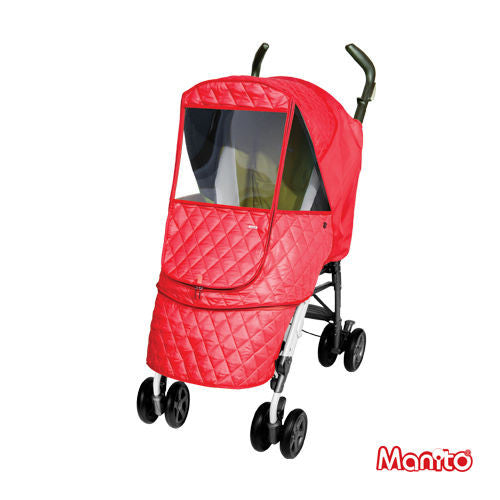 Manito Castle Alpha Stroller Weather Shield / Cover for Baby Stroller - Little Baby Genie - 3