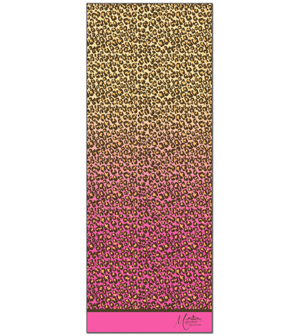 SALE ITEM * Marrero Collection Boho Pink Leopard Print Scarf
