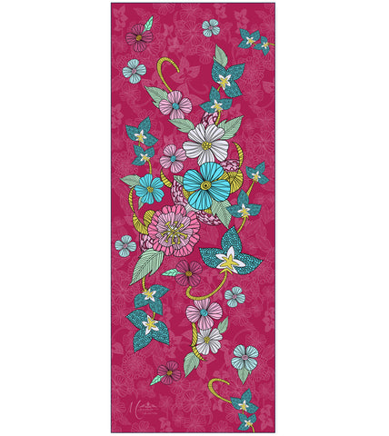 SOLD OUT-Pink Flowers Scarf