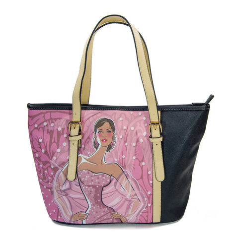 "Marrero Collection ""Rose ambition"" Fashion Tote handbag"