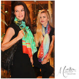 SOLD OUT! Boho Long Turtle Print Scarf
