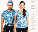 Blue China Pattern Men's T-Shirt