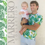 Sold out-Tropical Leaves Print Male T-Shirt