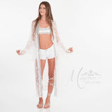 SOLD OUT Marrero Collection -White Lace Kimono