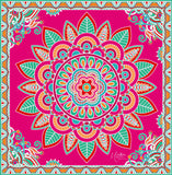 Mandala Small Silk Scarf
