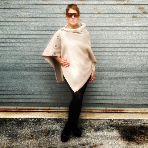 Marrero Poncho - Cream