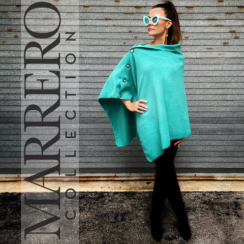 Marrero Poncho - Teal