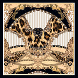 Baroque Square Silk Scarf