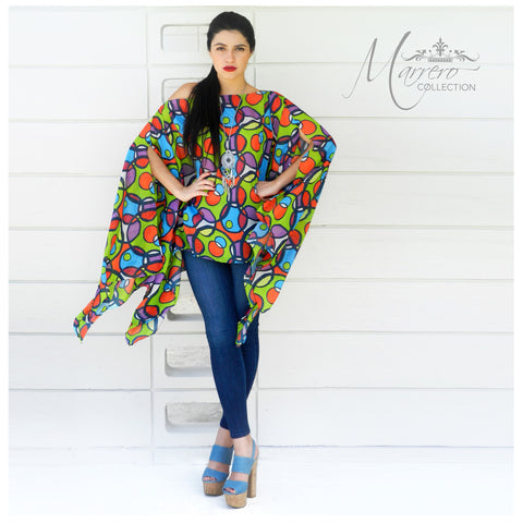 Marrero Collection Funky Circles Tunic/Cover Up