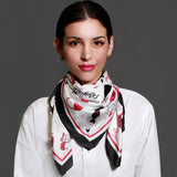 Fashionista Square Silk Scarf