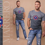 Sahara Wall Print Male T-Shirt