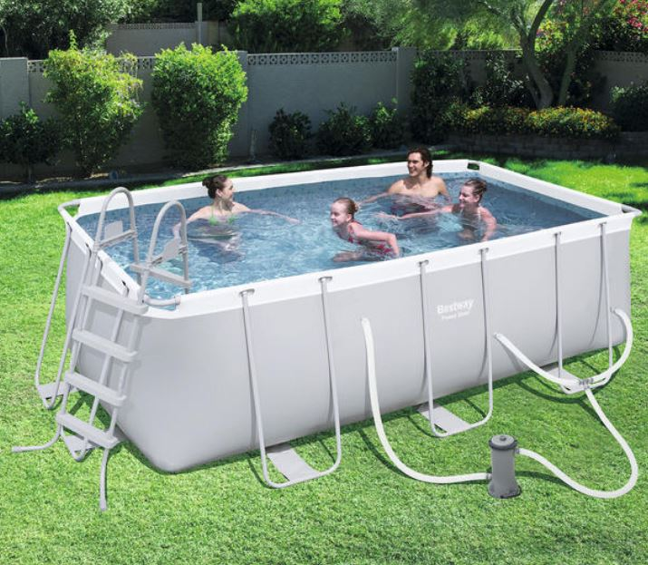POWER STEEL FRAME POOL - 4.12M X 2.01M X 1.22M