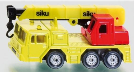 SIKU - HYDRAULIC CRANE W/ROAD SIGN