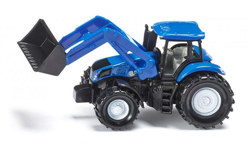 SIKU - NEW HOLLAND WITH FRONT LOADER