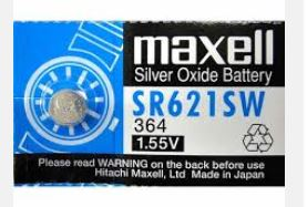 Maxell Battery - SR621SW
