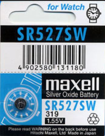 Maxell Battery - SR527SW
