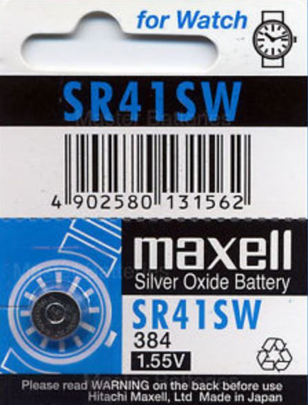 Maxell Battery - SR41SW