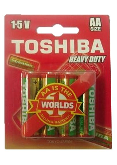 Toshiba Battery - AA Heavy Duty