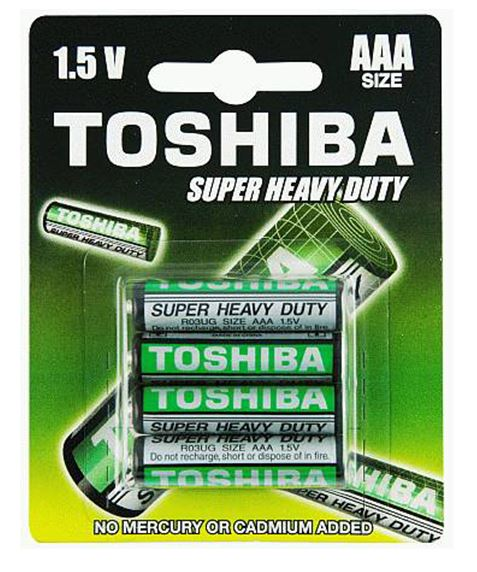 Toshiba Battery - AAA Heavy Duty