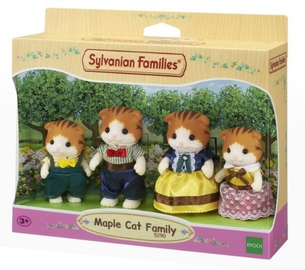 SYLVANIAN - MAPLE CAT FAMILY