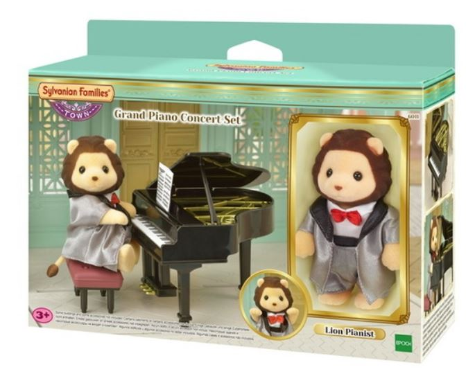 SYLVANIAN - GRAND PIANO CONCERT WITH LION