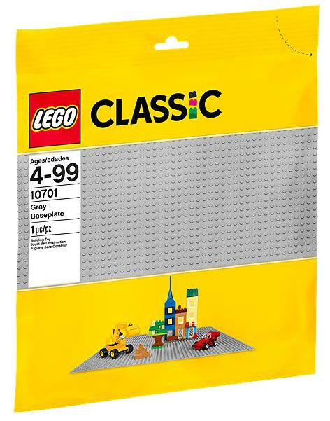 10701 - CLASSIC - GRAY BASEPLATE