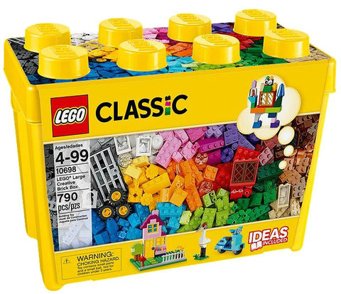10698 - CLASSIC - LARGE CREATIVE BRICK BOX