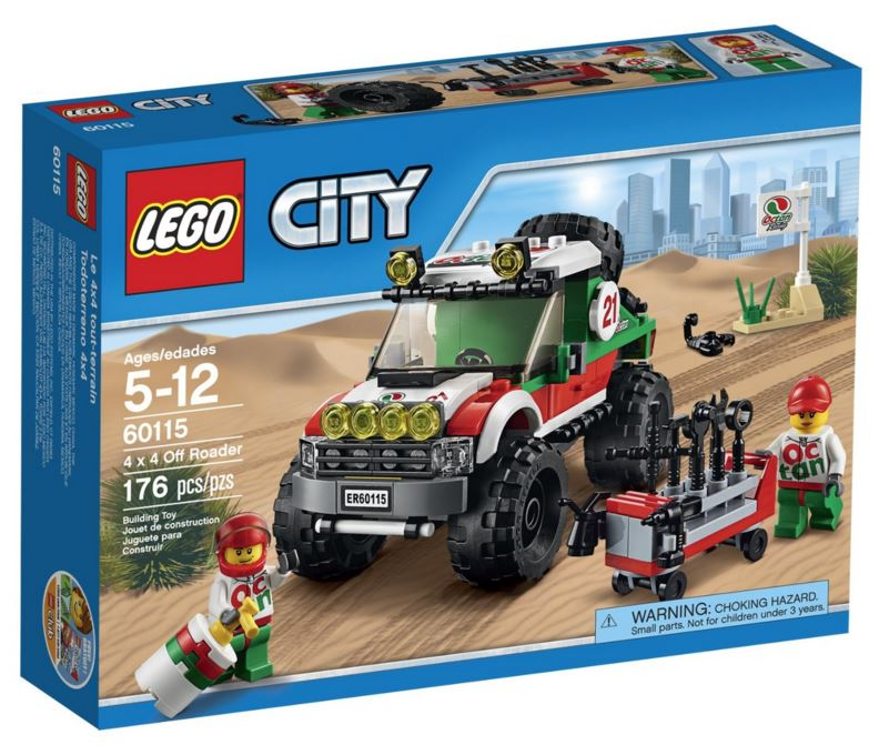 60115 - CITY - 4 X 4 OFF ROADER V29