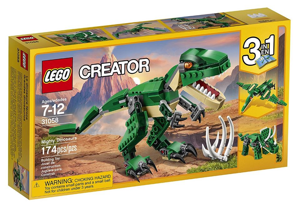 31058 - Creator - Mighty Dinosaurs
