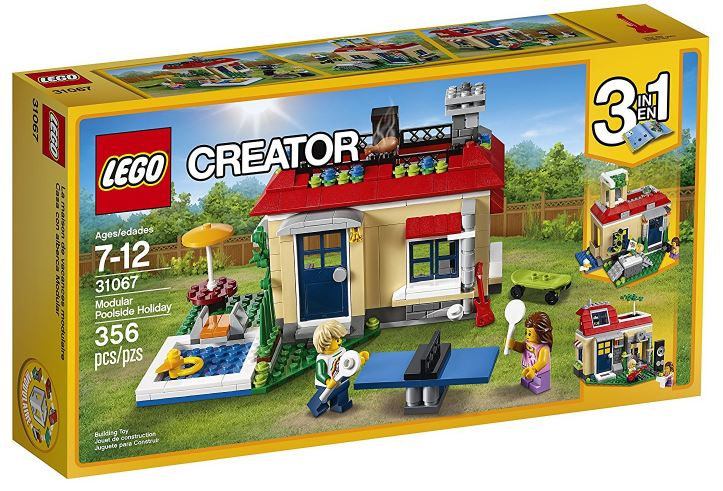 31067 - Creator - Modular Poolside Holiday